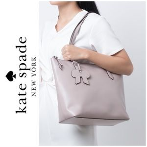 NWT Kate Spade genuine smooth leather tote